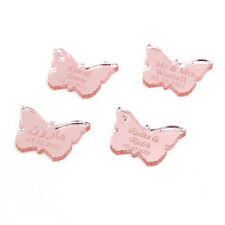 Personalized Laser Engraved Butterfly Design Festival  Party Table Decor Favors