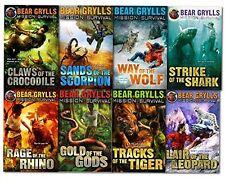 Bear Grylls Mission Survival 8 Book Set
