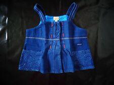 Débardeur bleu 4 ans MARESE - NEUF - jamais porté, juste lavé