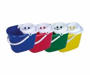 12 Litre Hygiene Mop Bucket & Wringer (102945)