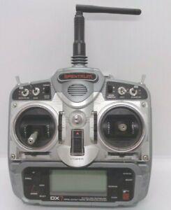 Spektrum dx7 dsm2 transmitter mode2  spares or repair due to back up error