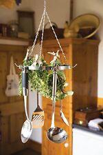 Appendere ROUND Utensil, erba Aria Asciugatura Rack Holder-Kitchencraft