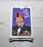 COLLECTABLE VINTAGE 1970'S TOMMY COOPER PACK OF PLAYING CARDS
