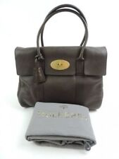 Mulberry Patternless Handbags with Inner Pockets