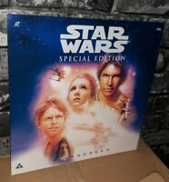 STAR WARS - A NEW HOPE LASERDISC (PAL) Special Edition Brand New Factory Sealed