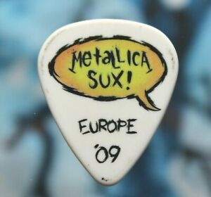 METALLICA // Europe 2009 Concert Tour Guitar Pick // Kirk Hammett James Hetfield