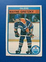 Wayne Gretzky 1982-83 #106 O-Pee-Chee Hockey Card Edmonton Oilers OPC