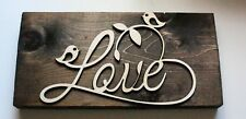 Love! Sustainable Reclaimed Pallet Wood Sign