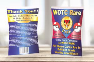 Rare Vintage WOTC | Sealed Rare WOTC Pokémon | Pack Of One Rare WOTC Card