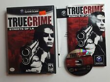 NTSC True Crime: Streets of L.A. Nintendo GameCube Complete CIB - FREE SHIPPING