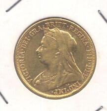 STERLINA D'ORO / ONE FULL SOVEREIGN - VITTORIA 1898  MELBOURNE