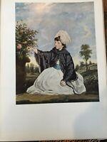 "National Gallery of Art, Reynolds ""Lady Caroline"" Print, 11"" x 14 1/2"" (Paper)"