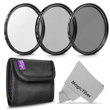 72MM Altura Photo® Filter Kit UV CPL Polarizer ND 4 for Nikon Canon DSLR Cameras