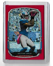 2013 Bowman Victor Cruz Red Sparkle 14/25