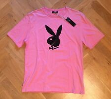 Original Playboy Damen T-Shirt, XL , TOP, Rosa Pink
