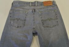 WOMENS LUCKY BRAND SIZE 8 AU SWEET & LOW FLARE STRETCH DENIM JEANS  VGC