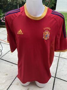 Spain Football Shirt 2002 Adidas XL Classic Soccer Jersey