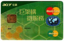 Taiwan Fubon Bank Mondex MasterCard Credit Card
