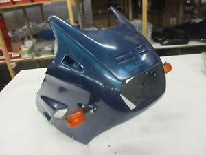 3. Suzuki GSX 1100 F GV 72 C Verkleidung vorne Frontmaske Kanzel Scheinwerfer gr