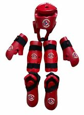Macho Martial Arts Youth Age 8-12 Sparring Gear Head Hands Shins Feet Taekwondo