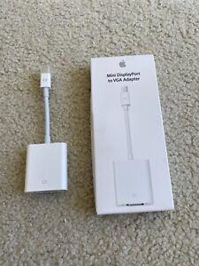 Genuine Apple Mini DisplayPort (Thunderbolt 2) to VGA Adapter MB572Z/B! US Sell!