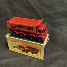 Matchbox Lesney Vintage 17 8-Wheel Tipper Hoveringham All Original