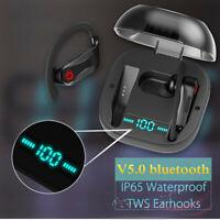 PowerHBQ PRO Sports Earbuds bluetooth 5.0 TWS Totally Wireless Earphone in Ear