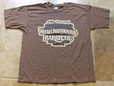 JACK DANIELS 18TH ANNUAL 2006 BARBECUE MEDIUM GREEN  T- SHIRT