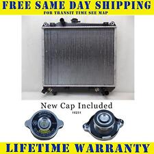 Radiator With Cap For Dodge Fits Dakota 2.2 2.5 3.9 L4 4Cyl V6 6Cyl 981WC