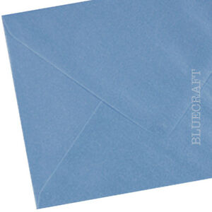 50 x A6 C6 Ice Blue Pearlescent Premium Quality Envelopes 114 x 162mm - 100gsm