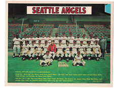 1967 SEATTLE ANGELS PCL ORIGINAL 8X10 PUBLICITY TEAM PHOTO TANNER REESE COATES