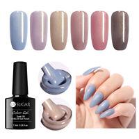UR SUGAR 7.5ml Jelly Gel Nail Polish Shimmer Colorful Soak Off Nail Art UV Gel
