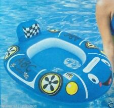 POOL SUMMER SPLASH N PLAY BABY INDY CARE CAR SEAT- BLUE // AGES 2+--NEW ITEM-