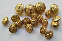 Greece Greek Hellenic Army Lot 19 Vintage Uniform Buttons