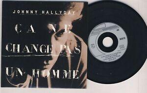 JOHNNY HALLYDAY ■ 1991 ■ ÇA NE CHANGE PAS UN HOMME ( edit radio - CD 3 Titres )