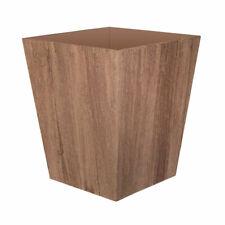 Suncast 16 Inch Farmington Decorative Rustic Wood Finish Garden Planter, Brown