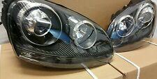VW Golf MK5 R32 led ball Headlights All Black inner 2004 2005 06 09 gti r32