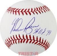 Nolan Ryan Signed Autographed Official ML Baseball Inscribed HOF 99 TRISTAR COA