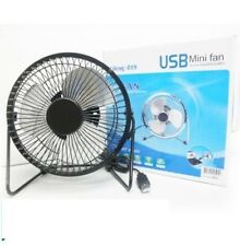 MINI VENTILATORE USB PC NOTEBOOK MINI FAN INCLINABILE PALE PALETTE IN METALLO