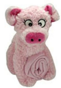 CUTE ANIMAL PINK PIG POLAR FLEECE BLANKET 70 X 90CM