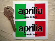 APRILIA MOTO Made in Italy classic Motorcycle stickers