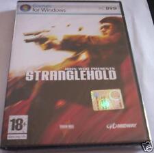STRANGLEHOLD gioco pc originale NUOVO SIGILLATO ITA PAL