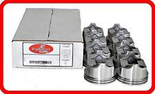 67-95 Chevrolet 350 5.7L OHV V8  (8)DISH-TOP PISTONS  STD 020 030 040 060