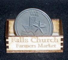 Dollhouse Miniature Falls Church Produce Crate 1:12 Virginia Farm Market Store