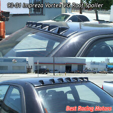 Vortex VG Style Roof Spoiler Wing (ABS Black) Fits 93-01 Subaru Impreza