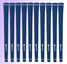 Set of 10 NEW Karma Blue Lady Velvet Golf Grips