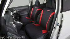 TOYOTA RUKUS SEAT COVERS FRONT NEOPRENE AZE151 FROM 2010> NEW GENUINE ACCESSORY