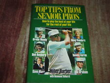 Bob Rosburg  + 5  Signed Top Tip From senior Pros Book