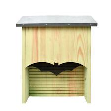 Esschert Design Fledermaus Haus Kasten Nistkasten Hotel Brutkasten Holz Zinkdach