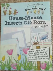 Joanna Sheen House Mouse Inserts CD ROM Volume One Papercrafting